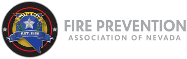 FIRE PREVENTION ASSOCIATION OF NEVADA Logo