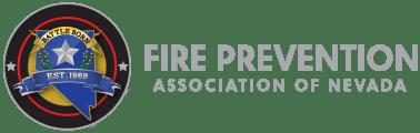 FIRE PREVENTION ASSOCIATION OF NEVADA Logo